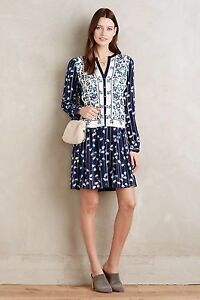 62b2e2ad1dd6 Image is loading NEW-Anthropologie-148-Semele-Shirtdress-by-Tiny-Size-