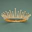 Bridal-Princess-Party-Crystal-Tiara-Wedding-Crown-Veil-Hair-Accessory-Headband thumbnail 15