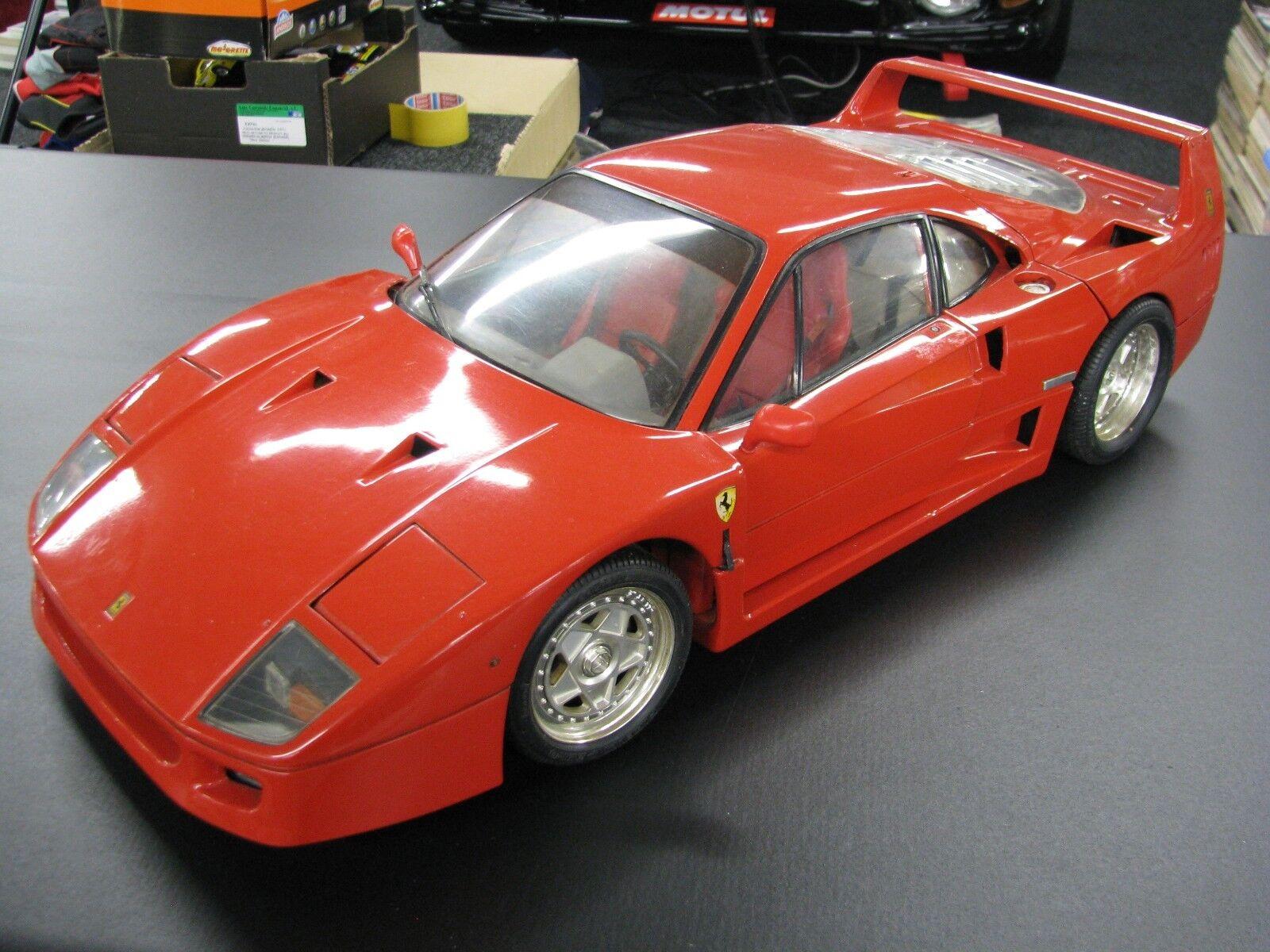soporte minorista mayorista Pocher built kit kit kit Ferrari F40 1:8 Rojo  de moda