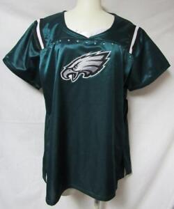 8adbe76a Philadelphia Eagles Womens Plus Size Large Draft Me T-Shirt A1 1297 ...