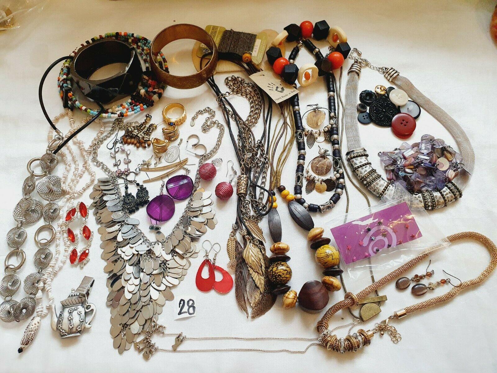 Beautiful Large Mix Jewellery Job Lot House Clearance