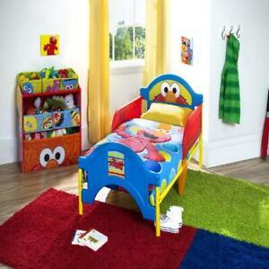 Delta Children Sesame Street Elmo Plastic Toddler Bed, Red ...