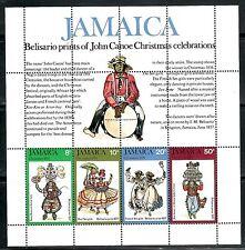 SELLOS NAVIDAD JAMAICA 1975 HB 88 4v.