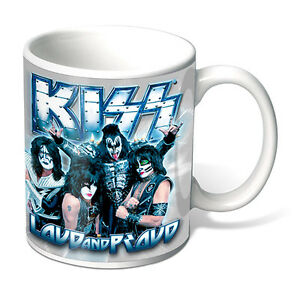 Official Licensed KISS Gene Simmons Coffee Mug TYPE: Loud and Proud