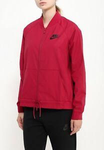 Détails sur Nouveau Femme Nike Veste Bomber SMLCourirpochesLéger Sport£ 65 afficher le titre d'origine