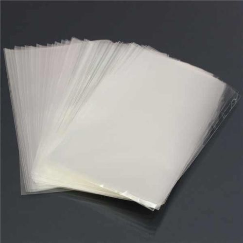 1000 x 200g Clear Polythene Food Use, Storage Plastic Bags