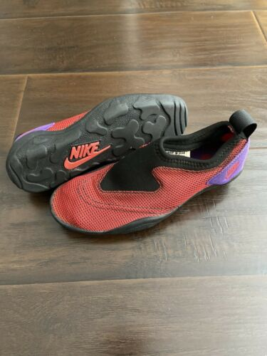 Vintage 90s NIKE Aqua Socks Water Shoes Mens Size… - image 1