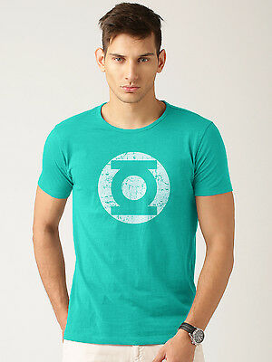 Green Lantern Logo - T-shirt High Quality Printed Round Neck T-Shirt