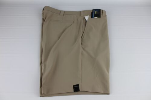 NEW Roundtree /& Yorke Performance Size 52 Classic Flat Front Men/'s Shorts NWT