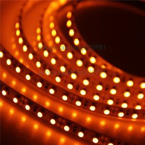 5M-Orange-3528-led-Strip-Light-Lamp-600-LED-120led-m-Flex-Non-waterproof-12V