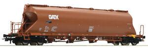Versandkostenfrei-Roco-76705-Staubsilowagen-GATX-Neu-und-OVP-H0