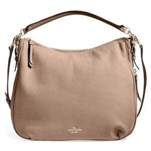 Kate Spade New York PXRU5515 Cobble Hill Ella Leather Handbag Warm ... 00c47baed163e
