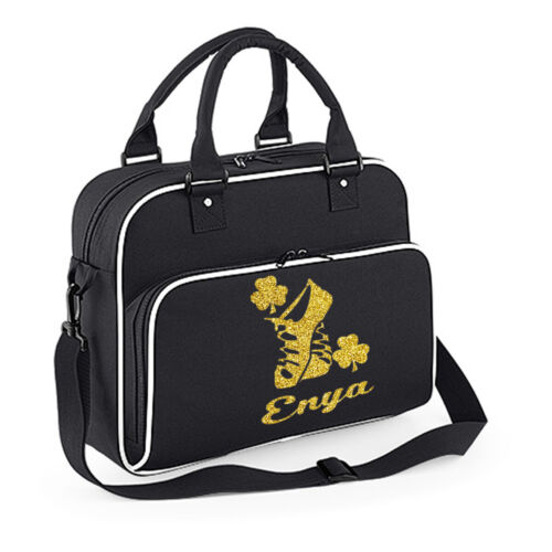 Personalised Irish Dancing Bag Dancer Birthday Bag Fesh Gift Shoulder Feis Kit