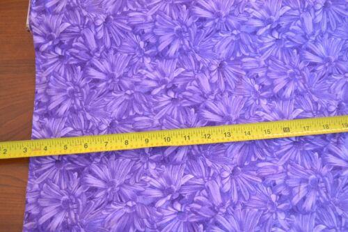 Lavender /& Purple Quilting By 1//2 Yd B272 RJR//Simple Pleasures//Beaves//0874-3