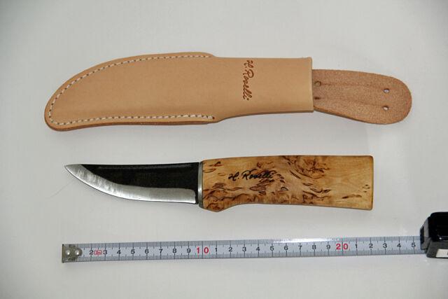 Roselli Messer Puukko - Hunting knife - R100, Finnland NEU unbenutzt