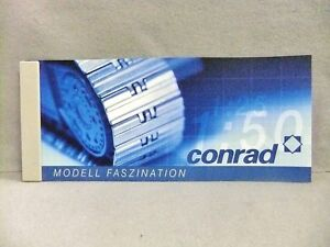 Conrad-2002-Edition-Modell-Faszination-Catalog-103-pages-NEW