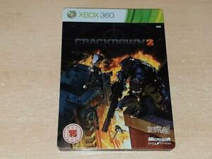 Crackdown-2-Limited-Steelbook-Edition-Xbox-360-UK-PAL-PLAYABLE-ON-XBOX-ONE