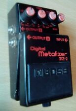 Boss MZ-2 Digital Metalizer Stereo Distortion MIJ Vintage 1988 Made in Japan