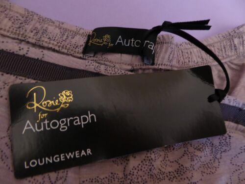Marks /& Spencer Rosie autographe UK22 EU50 US18 Nouveau Mauve-Mix de détente Short
