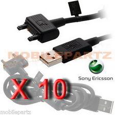 10 x Sony Ericsson DCU-65 USB Data Cable for Elm Satio K800i W995i
