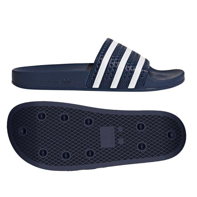 Pirata café estoy enfermo  Slides Adidas Originals adilette 288022 43 navy blue Beach Sandals Slippers  Flip for sale online