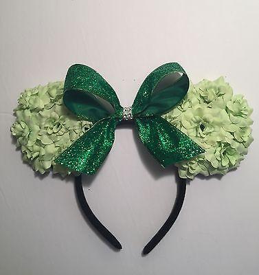handmade tinker bell inspired bow