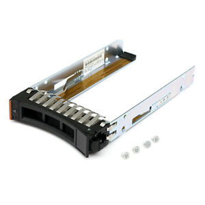 2-5-Inch-SAS-SCSI-SFF-Drive-Tray-Caddy-Sled-for-IBM-44T2216-x3400-Hard-Converter