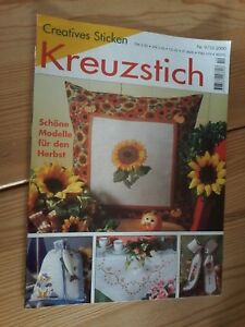 Creatives-Sticken-Kreuzstich-Nr-9-10-2000-schoene-Modelle-fuer-den-Herbst