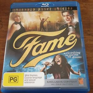 Fame Bluray LIKE NEW! FREE POST