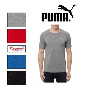 SALE-Puma-Men-039-s-Evostripe-Tee-Shirt-Crew-Neck-Dry-Cell-SIZE-amp-COLOR-VARIETY-D11