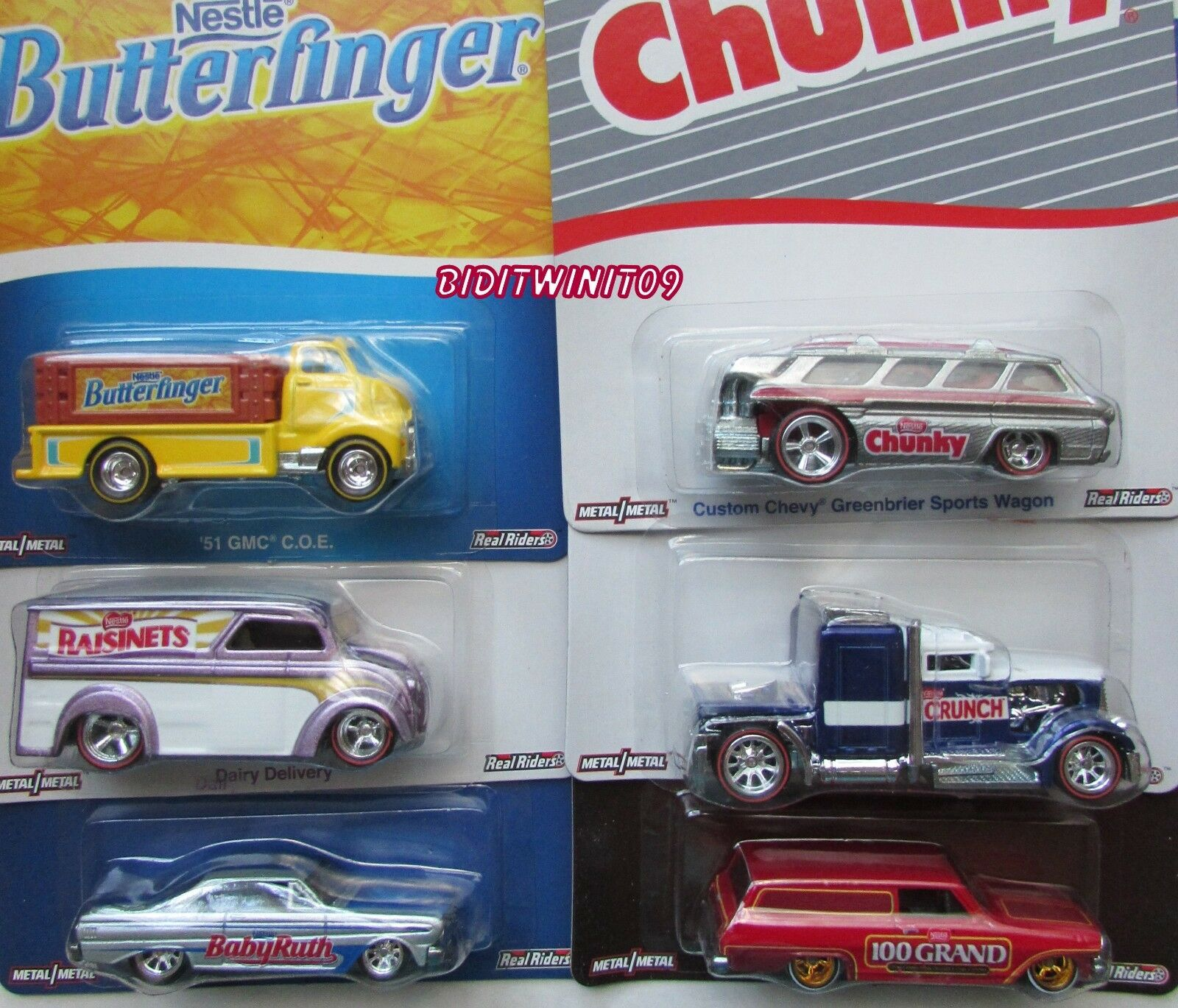 Hot Wheels Pop Kultur Nestle Set 6 Convoy Custom Bad Karten mit  | Exquisite Handwerkskunst
