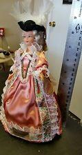 Marie Antoinette vintage doll,OOAK, souvineer, lot of 3 dolls. Hand made, cute.
