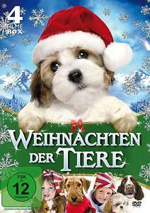 SEAN PATRICK FLANERY - WEIHNACHTEN DER TIERE 4 FILME BOX    DVD NEUF