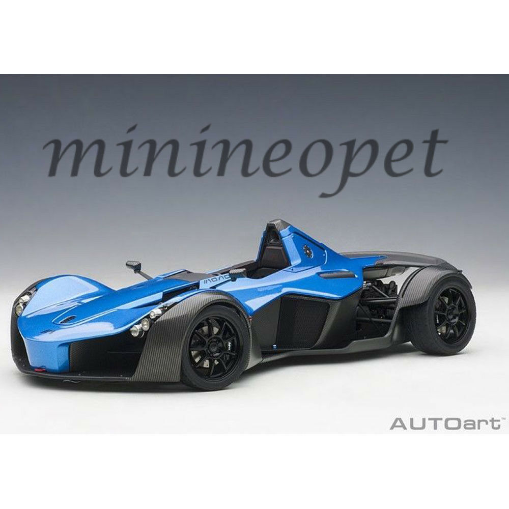 AUTOart 18115 BAC MONO 1 18 MODEL CAR METALLIC blueE