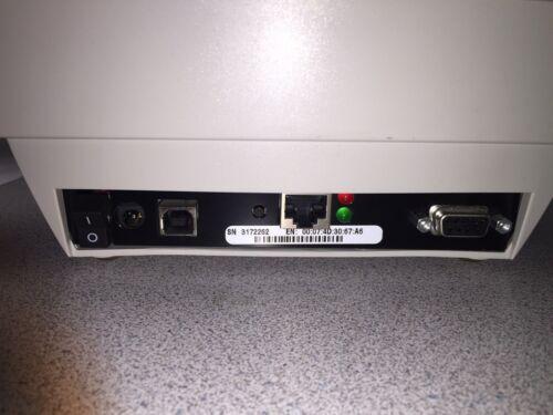 Zebra LP2844 Ethernet Network Label Printer Direct Thermal Tag Tech Support