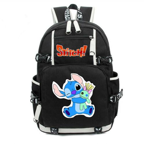 Loli Stitch Backpack School Bag for Teenagers Kids Travel Bag Rucksack Bookbag