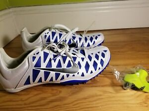 NIKE ZOOM MAX CAT 4 TRACK AND FIELD MENS SPIKES SHOES 549150-100 SIZE 11.5 0