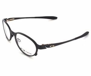 fda28be9dbf Oakley Overlord Ox5067-0251 Satin Black Titanium 51mm RX Eyeglasses