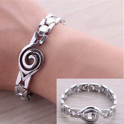 HOT ! Men's New Anime Products Naruto Symbol Bracelet Wristband Free Shipping