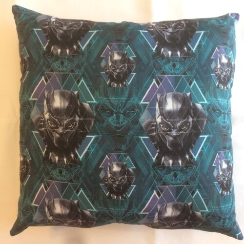 NEW BLACK PANTHER MARVEL AVENGERS & MORE ON 15x15 COMPLETE PILLOWS, MANY STYLES