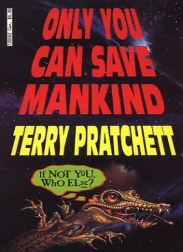 1 of 1 - BOOK-Only You Can Save Mankind (Johnny Maxwell),Terry Pratchett- 9780