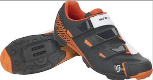 shoes SCOTT MTB COMP RS color black-ARANCIONE
