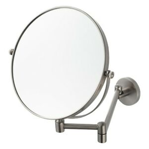 Image Is Loading Aqualux Pro 2515 Bathroom Shaving Mirror Magnifier Wall