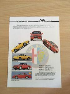 Ars-model, Alfa Romeo-programme, Sans Valeur De Date, 1:43, 2 S., Neuf-, Ohne Datumsangabe, 1:43, 2 S., Neu Fr-fr Afficher Le Titre D'origine Nettoyage De La Cavité Buccale.