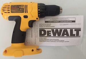 new dewalt dc759 dc759b 18v 18 volt compact 1 2 cordless drill rh ebay com