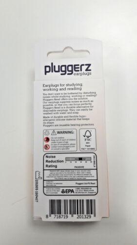 NEU OVP Pluggerz read Ohrstöpsel Lärmschutz Gehörschutz zum Lesen studieren..