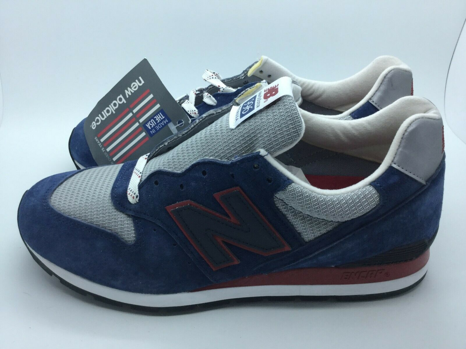 New Balance Men's Fashion Sneakers Casual Athletic M996CMB Rare Sizes 10 No Box