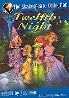 1 of 1 - Twelfth Night by William Shakespeare, Jan Dean (Paperback, 2000)