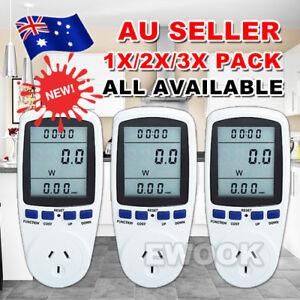 AU-Plug-Power-Energy-Consumption-Watt-Meter-Electricity-Usage-Monitor-Equipment