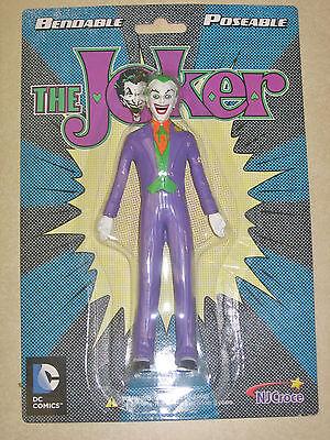 The Joker Figure Bendable Poseable DC Comics by NJ Croce New